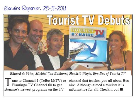 Tourist TV Bonaire Team
